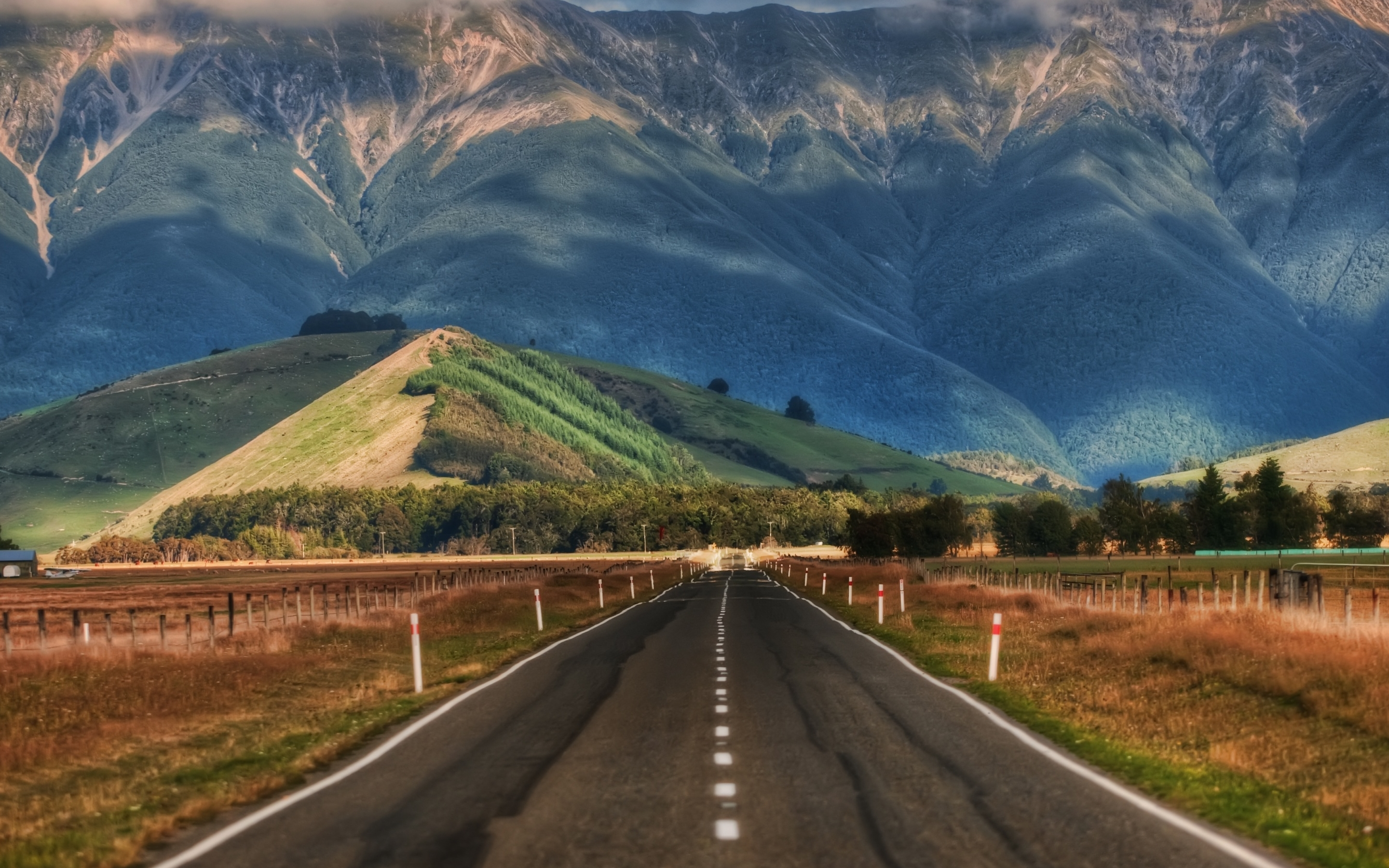 Road In New Zealand Mac Wallpaper Download Mac Wallpapers 2880x1800