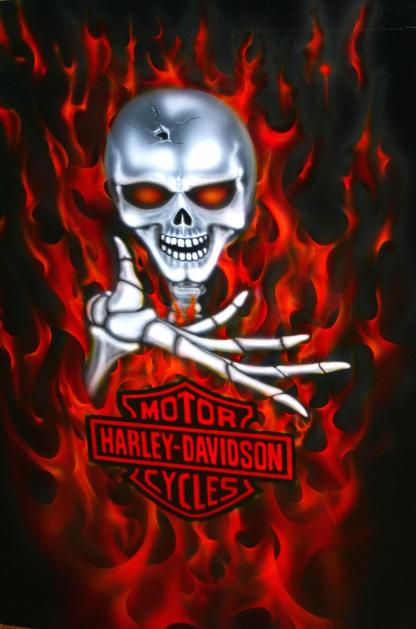 Harley Skull HD Walls Find Wallpapers 1715x2592