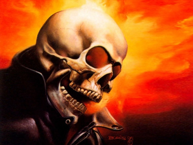 Skull 640x480 Screensaver wallpaper 640x480