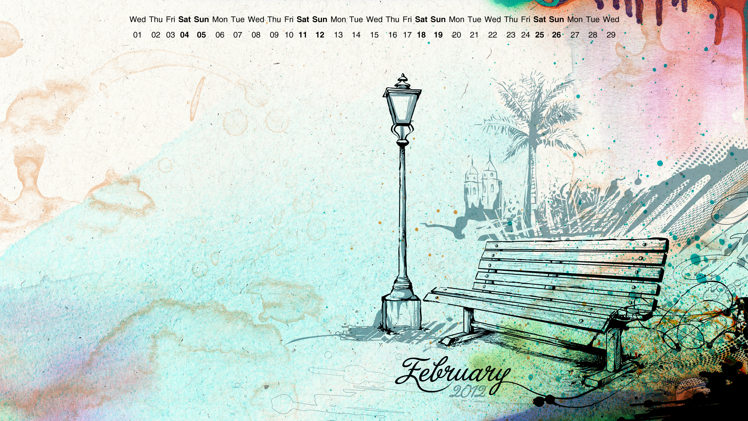 February Wallpaper by reiiz 2560x1440