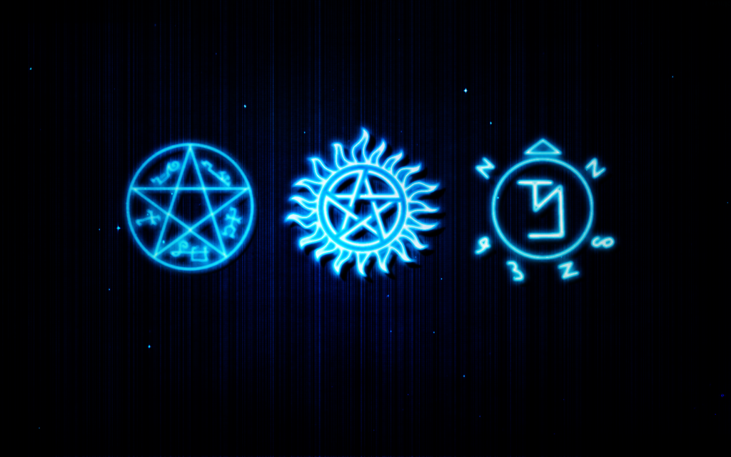 supernatural logo wallpaper wallpapersafari