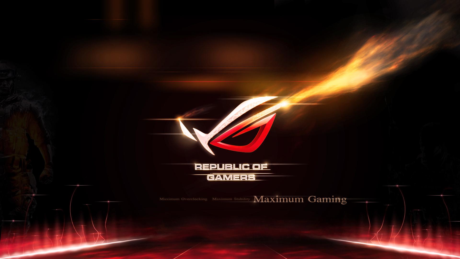 Pics photos rog blue background republic of gamers asus gamer asus - Asus Rog Wallpaper 1280x1024 Wallpaper 1112744
