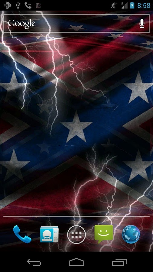 3D Rebel Flag Live Wallpaper   screenshot 506x900