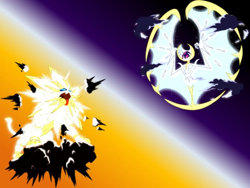 Pokemon Sun and Moon Solgaleo and Lunala Wallpaper by 830x623