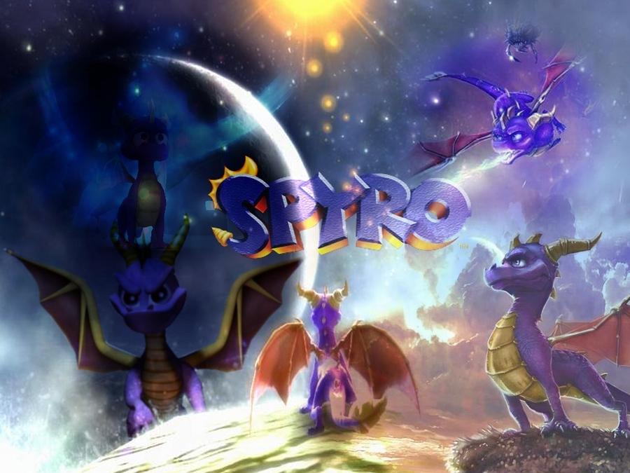 Spyro the dragon wallpaper wallpapersafari - Spyro wallpaper ...