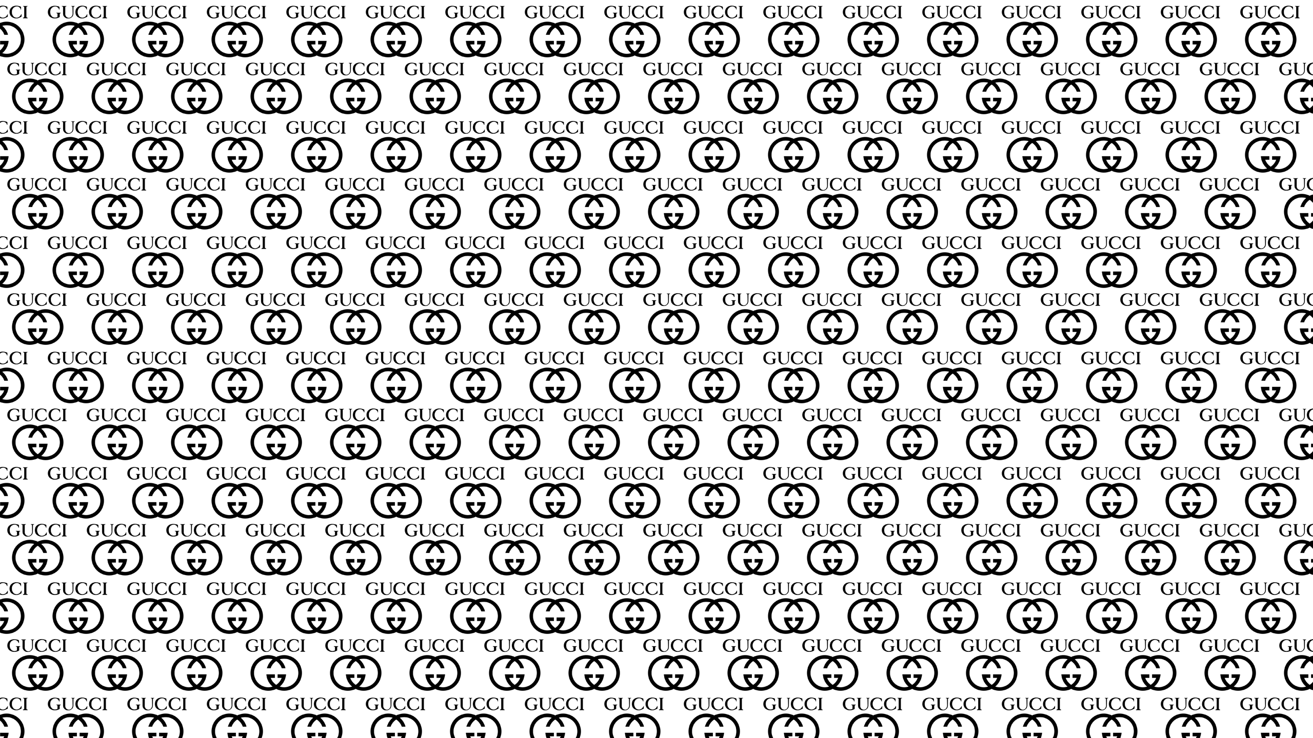this White Gucci Desktop Wallpaper is easy Just save the wallpaper 2560x1440