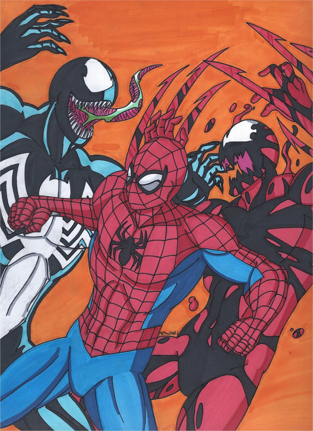Maximum Carnage Tribute Part 14 The Final Battle by RobertMacQuarrie1 1024x1411