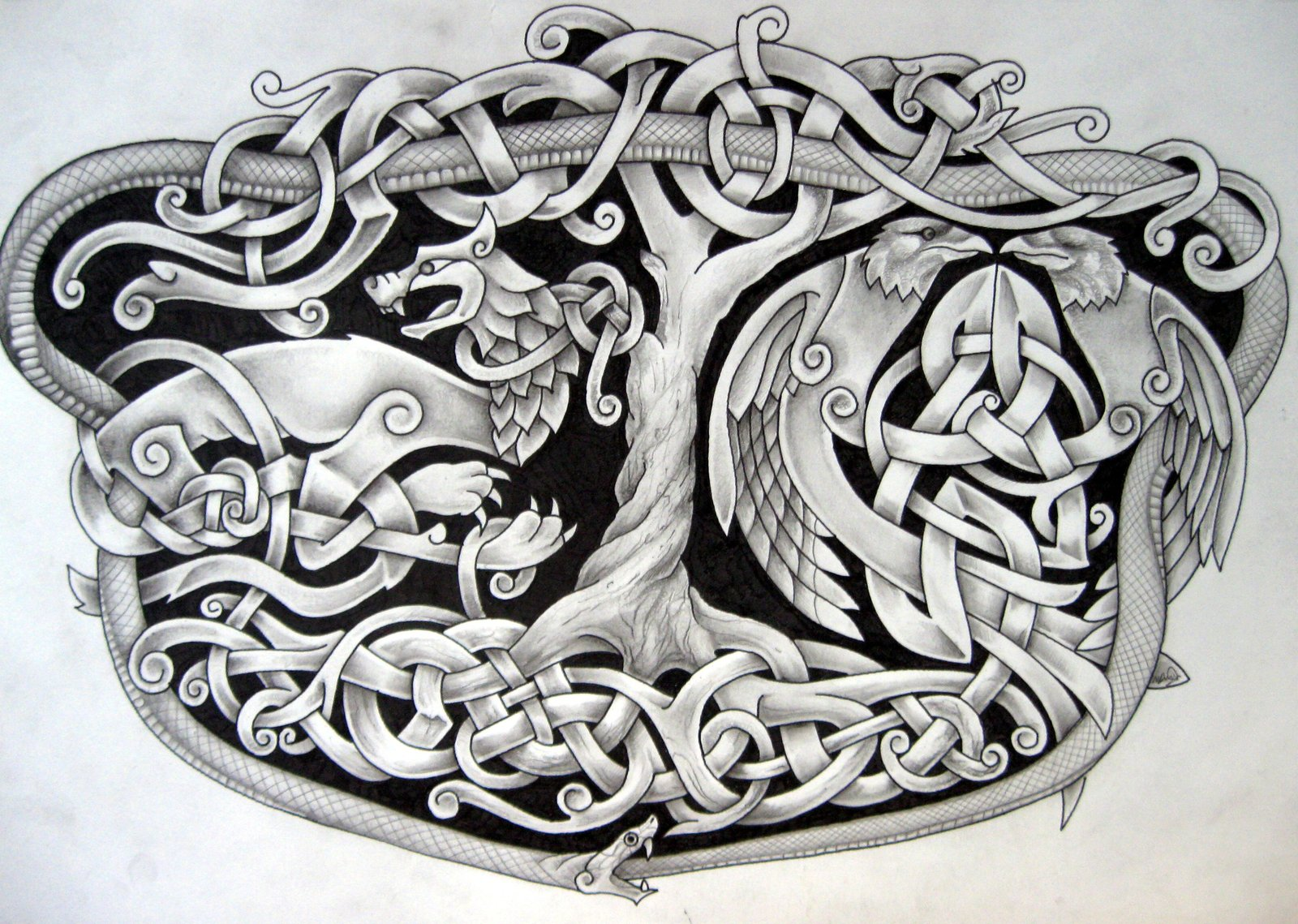 Images of Celtic Fox Knot - #rock-cafe