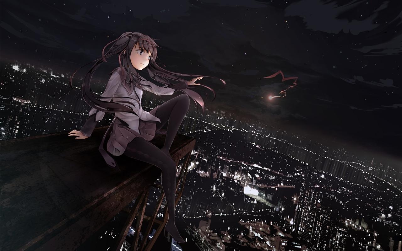 46 dark anime wallpaper hd on wallpapersafari - Dark anime girl pics ...