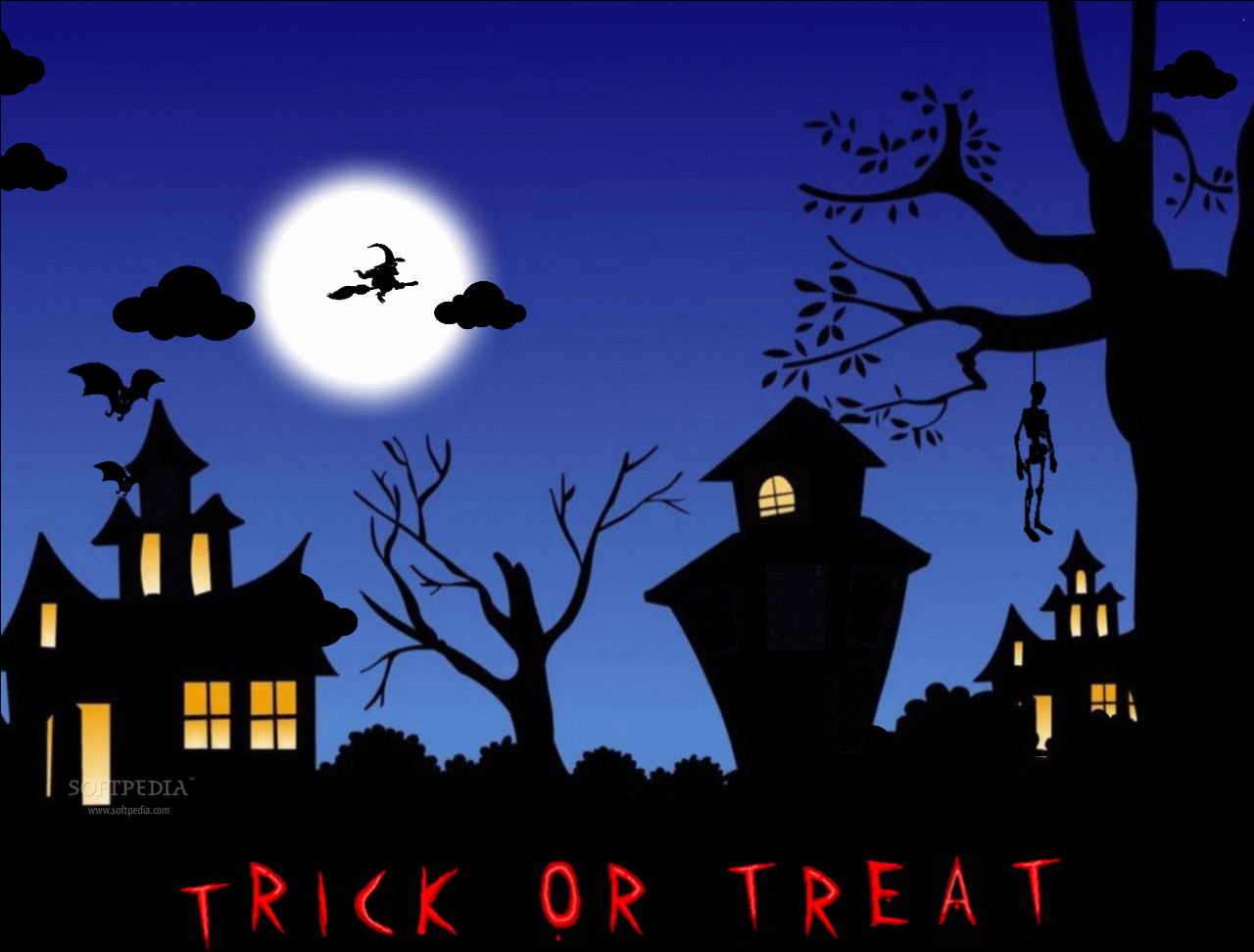 Halloween Animated Wallpaper   This is how the application will 1280x972