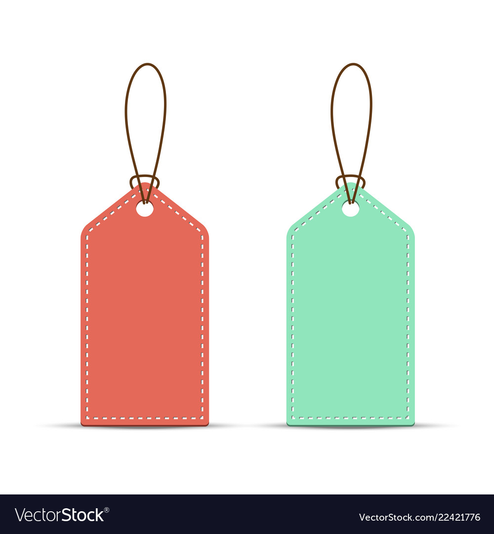 Price tag template isolated on white background Vector Image 1000x1080