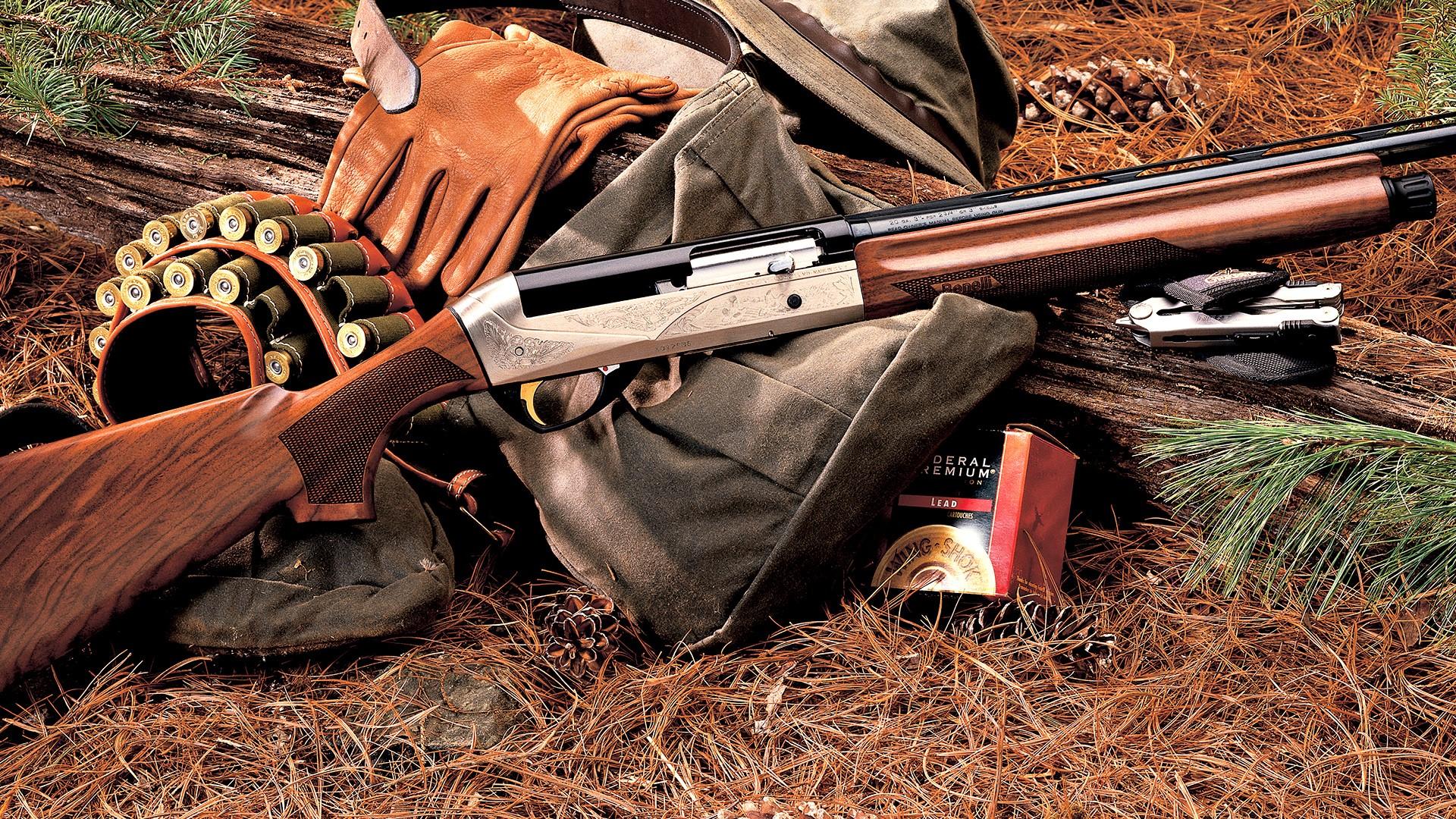 Shotguns for Hunting in Jungle Wallpaper Download 1920x1080