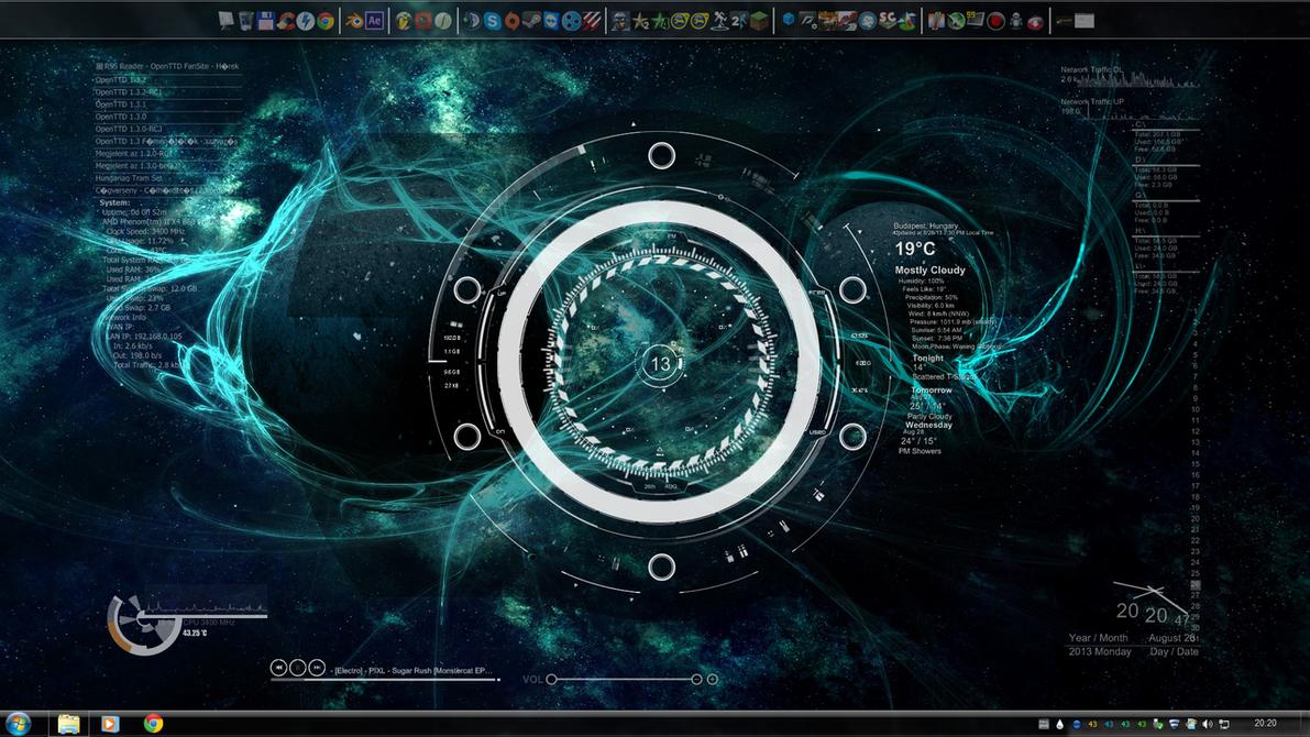 Desktop Wallpaper Space Theme - WallpaperSafari