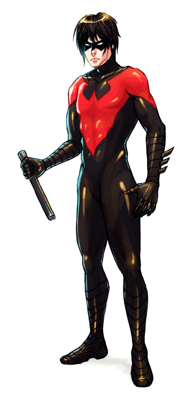 Nightwing New 52 Wallpaper Nightwing 613x1302