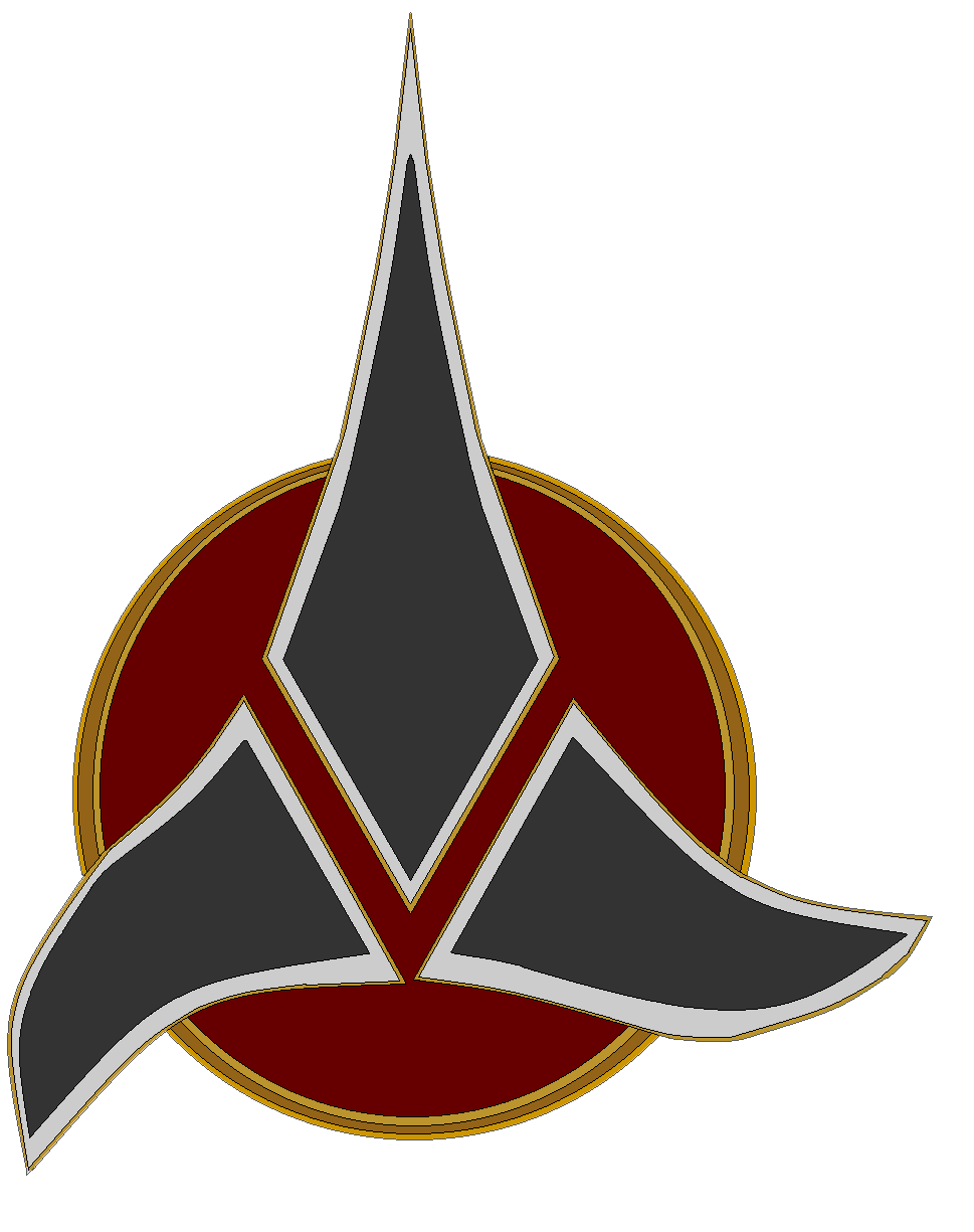 Emblem of the Klingon Empire by bagera3005 969x1225
