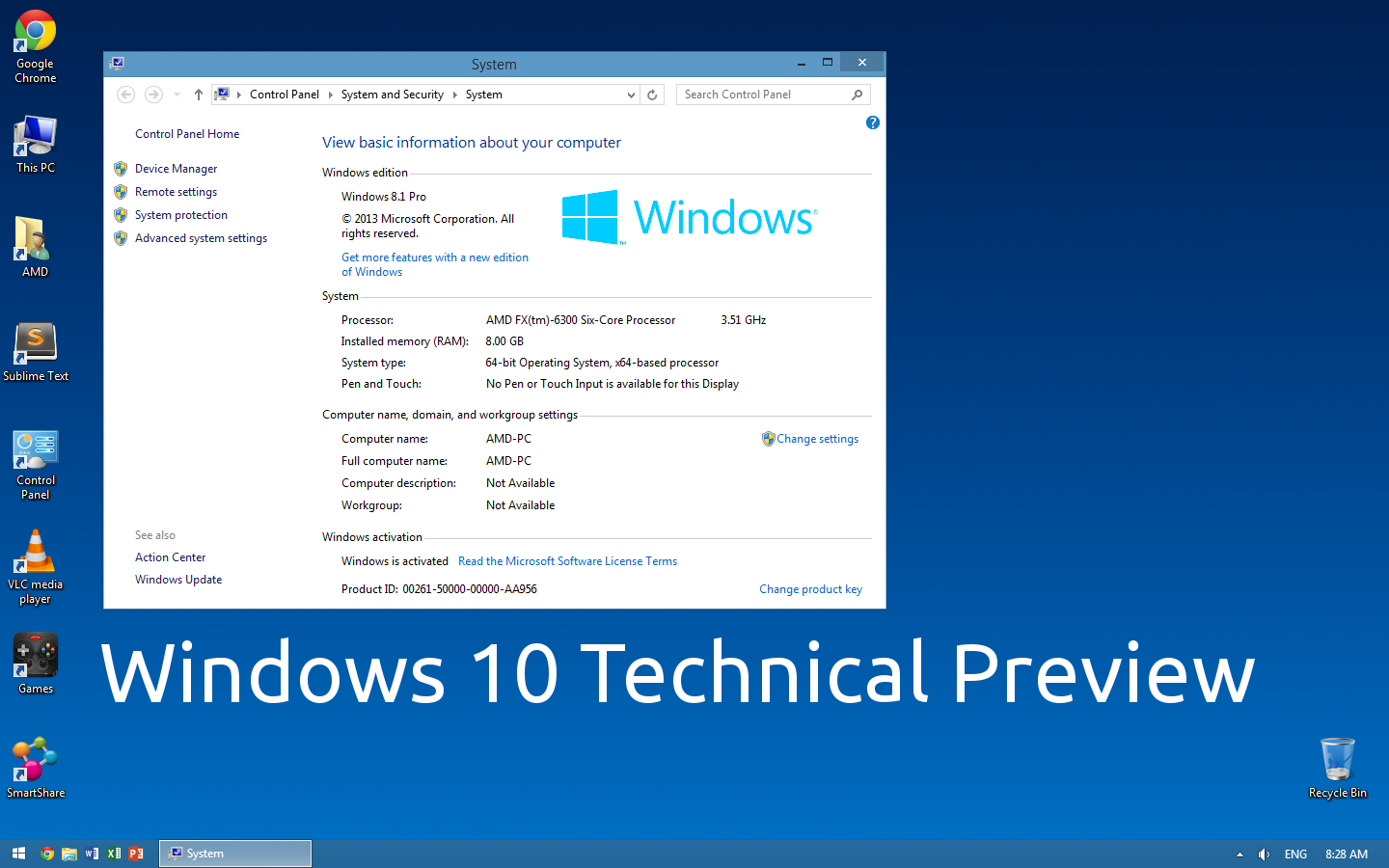 Windows 10 Technical Preview wallpaper by paladin324 1440x900