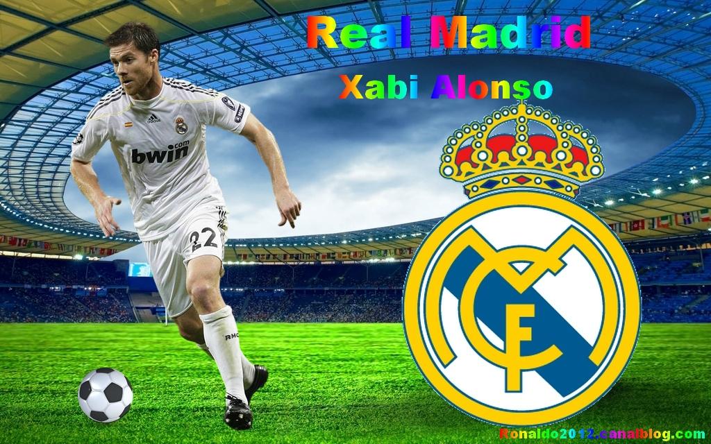 Xabi Alonso Real Madrid Madridista wallpaper   Cristiano Ronaldo 1024x640