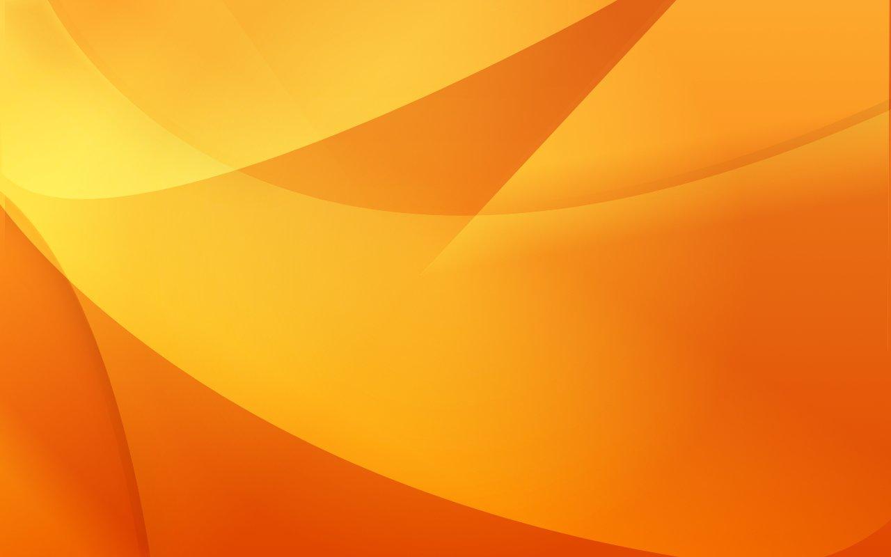 Orange Desktop Background by The Dogfather 1280x800