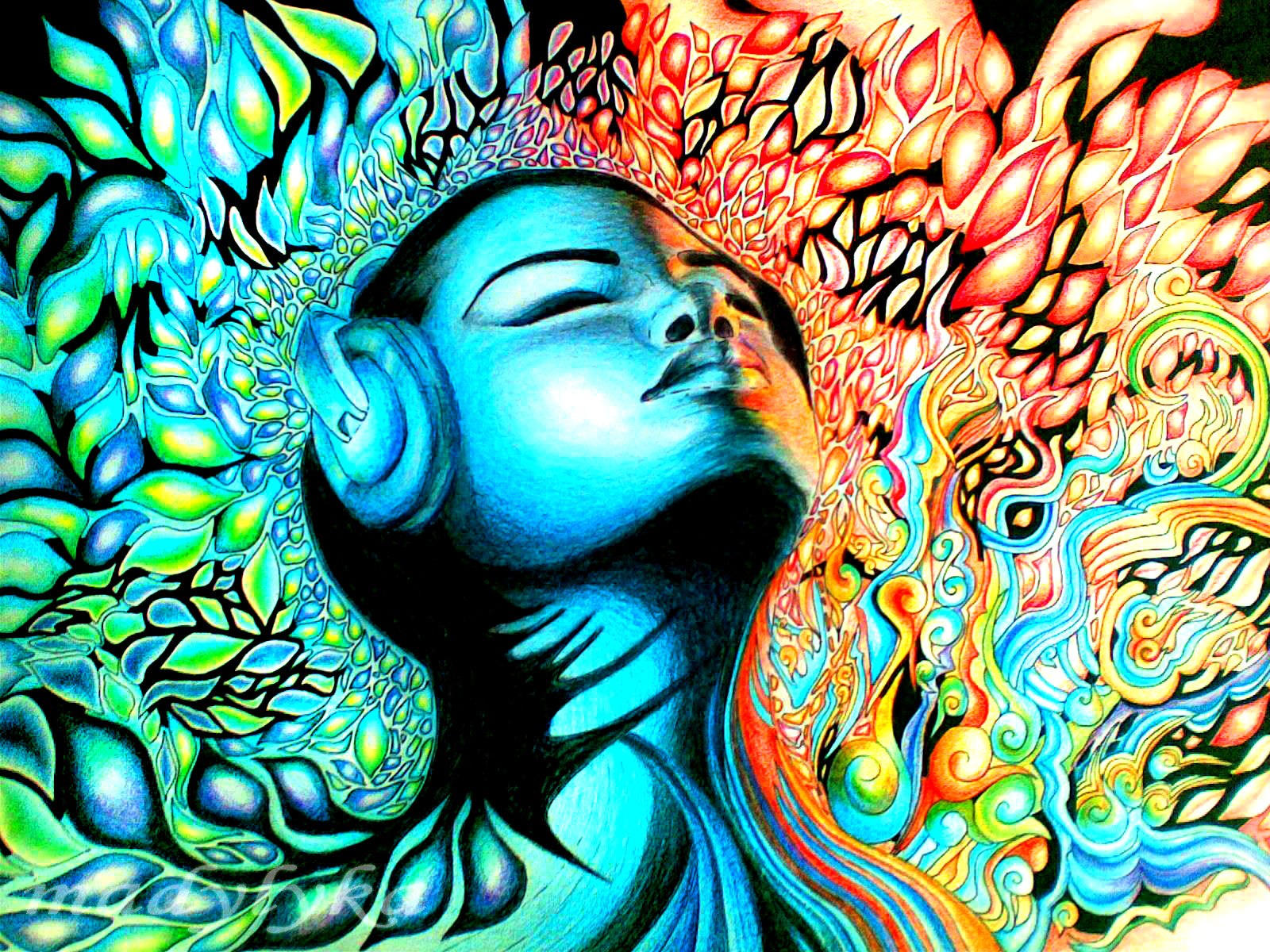 Psychedelic Wallpaper Hd Wallpapers Download 1600x1200