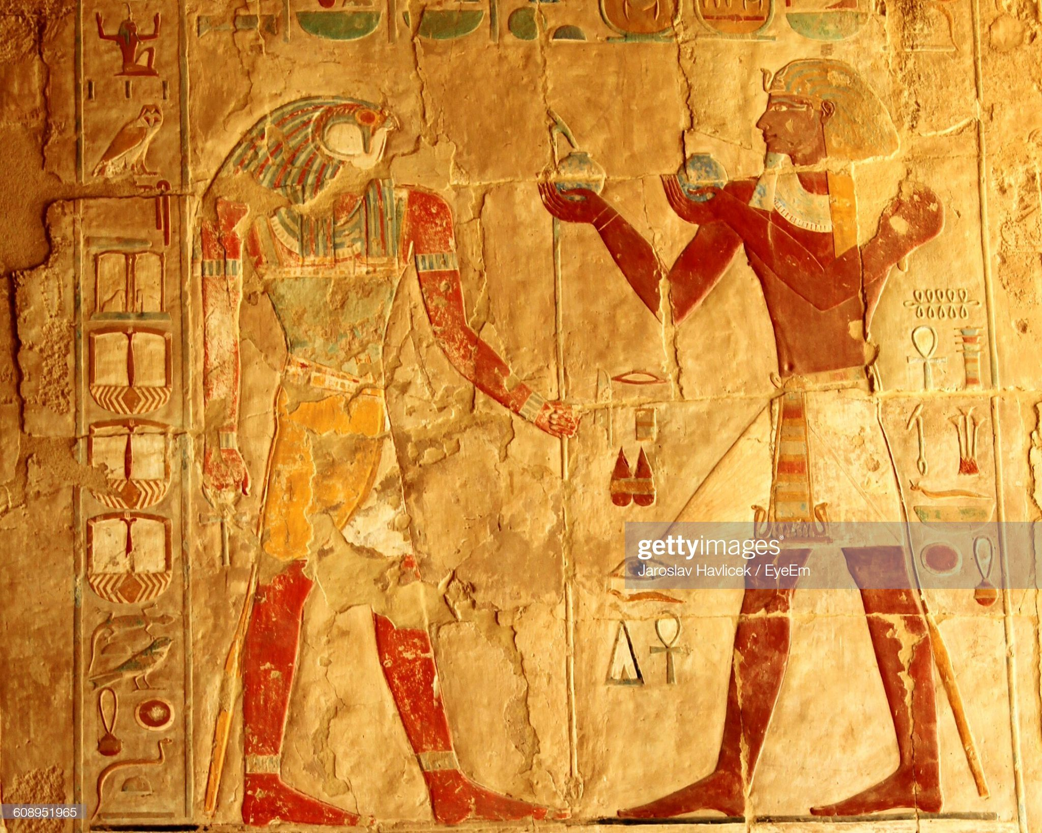 Carvings On Temple Of Hatshepsut Wall Civilizations Egyptian 2048x1638