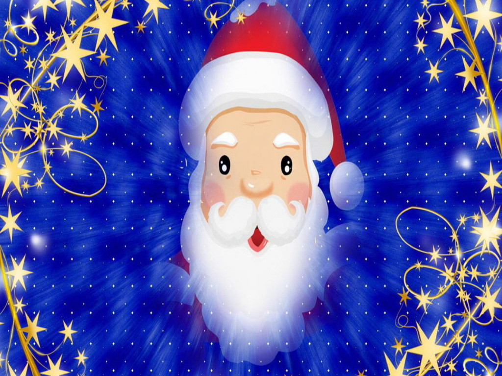 Merry Christmas Santa Claus HD Wallpapers for iPad Tips and 1024x768