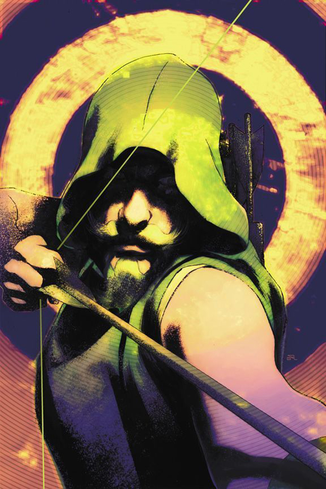 iPhone background Green Arrow I4 from category cartoons wallpapers for 640x960