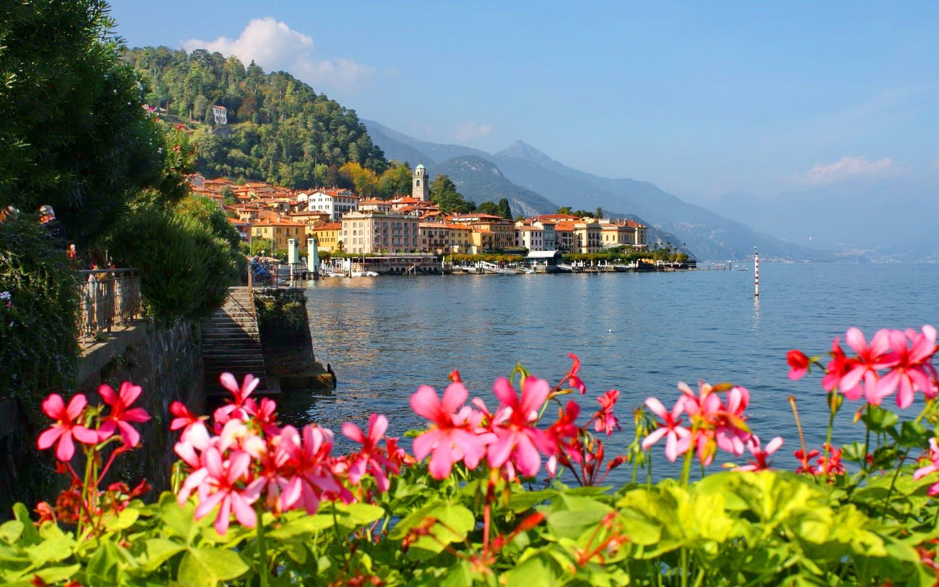Lake Como Wallpaper 8693 1920x1200