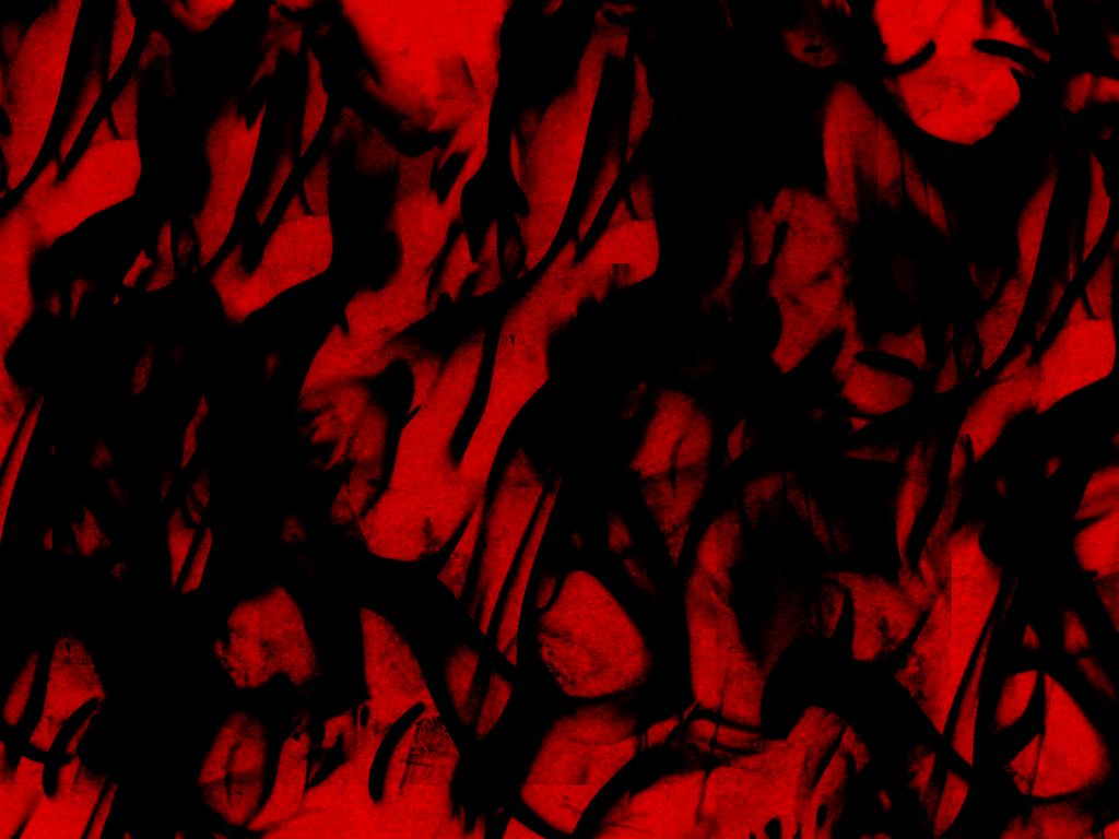 Red And Black Flames Wallpaper 1024x768