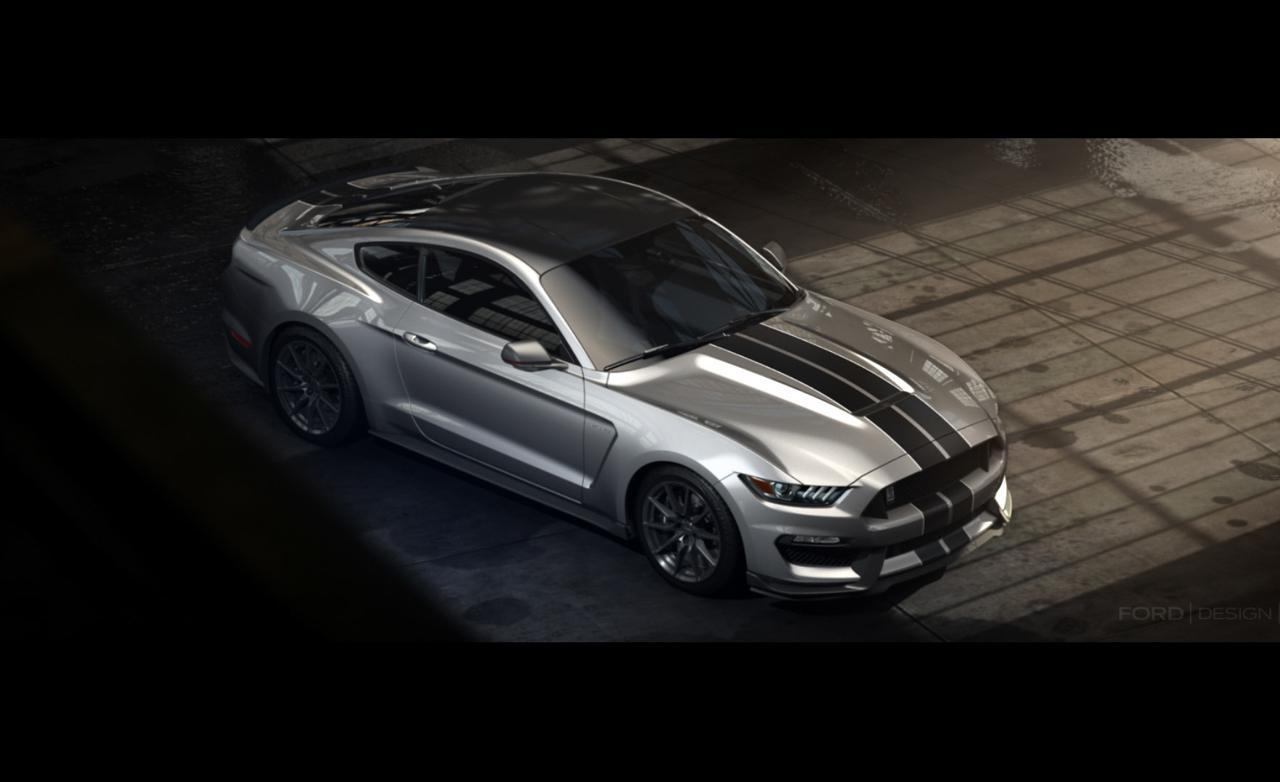 Ford Mustang Shelby GT350 Desktop Image Wallpaper CarsWallpaperNet 1280x782