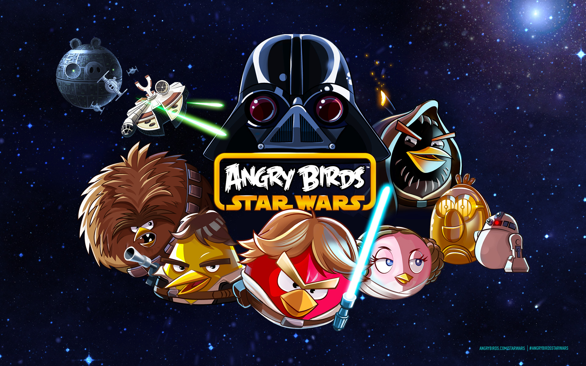 Image   Angry Birds Star Wars Official Backgroundjpg   Angry Birds 1920x1200