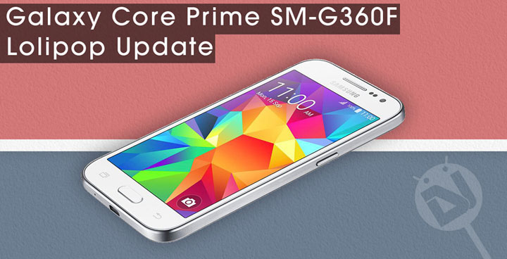 the Android 5.0.2 Lollipop firmware on your Samsung Galaxy Core Prime ...