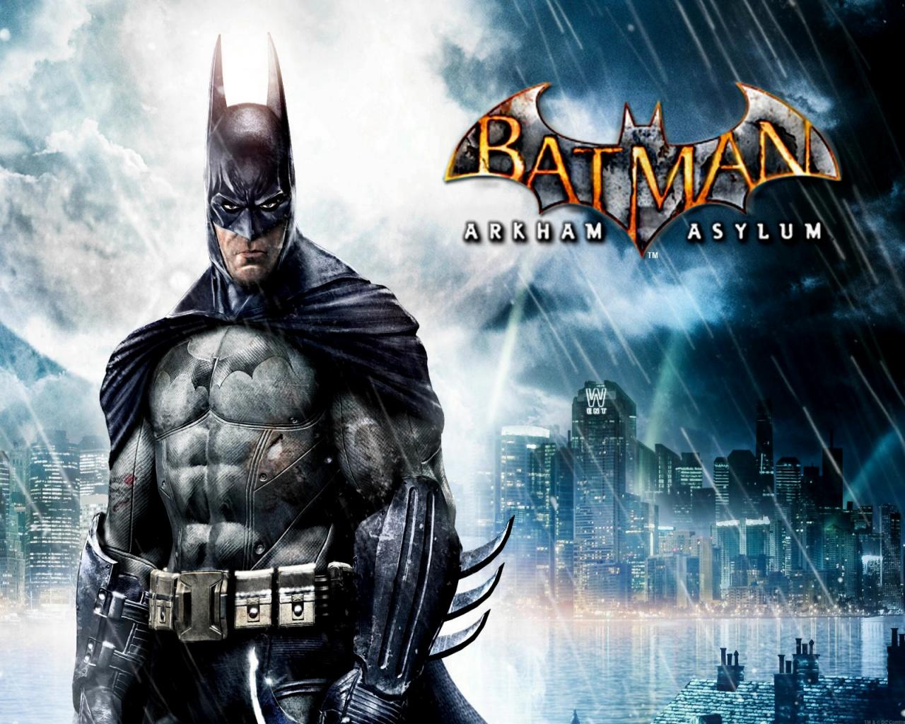 1280x1024 Batman Arkham Asylum desktop PC and Mac wallpaper 1280x1024