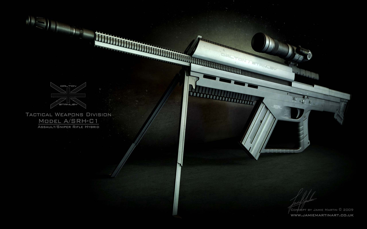 Hd Sniper Rifle Wallpapers Weapons   sniper rifle 1280x800