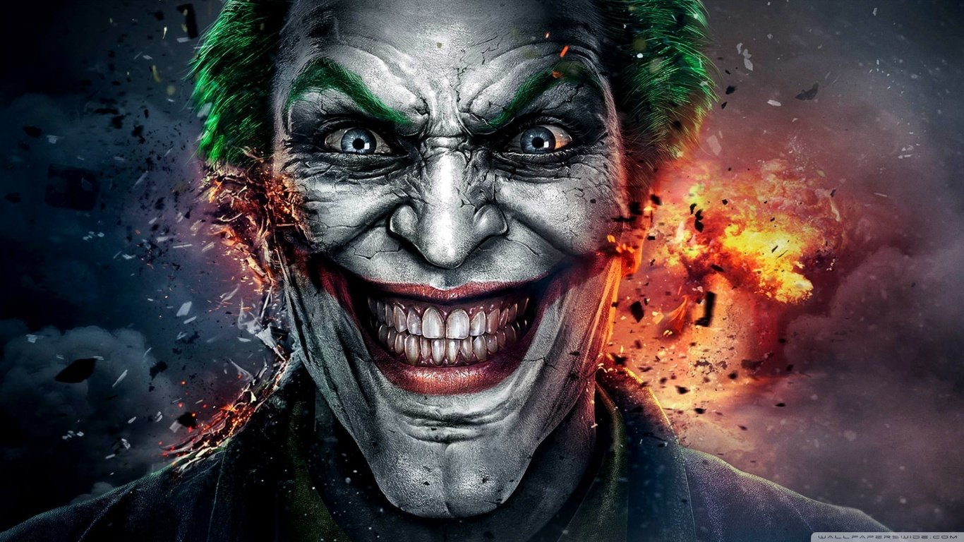 11 Best The Joker HD Wallpapers That You Can Download 1366x768