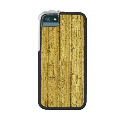 Gold Foil Wood Texture Background Template iPhone 55S Case Zazzle 512x512