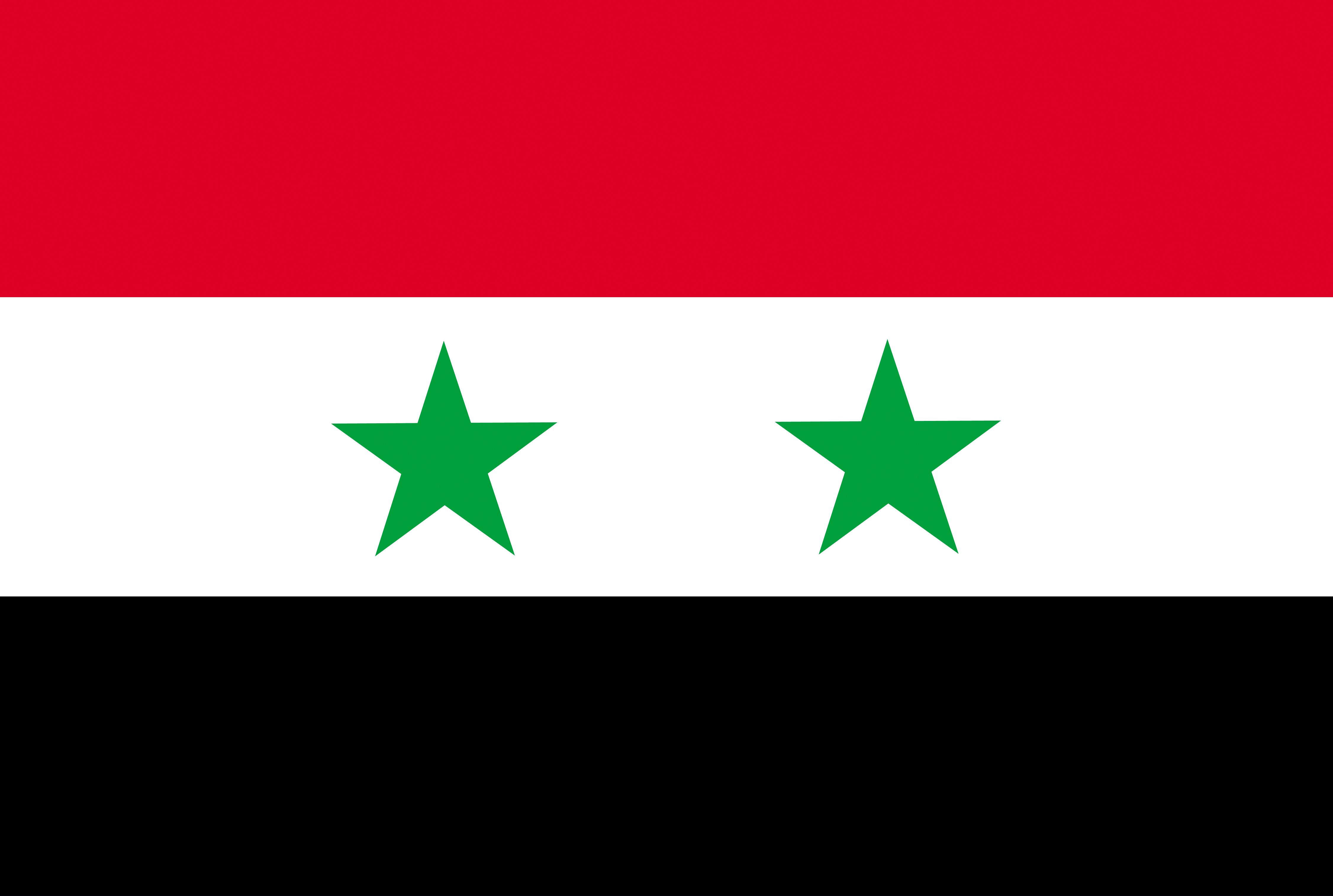 Photo Syria Flag Stripes 4504x3027