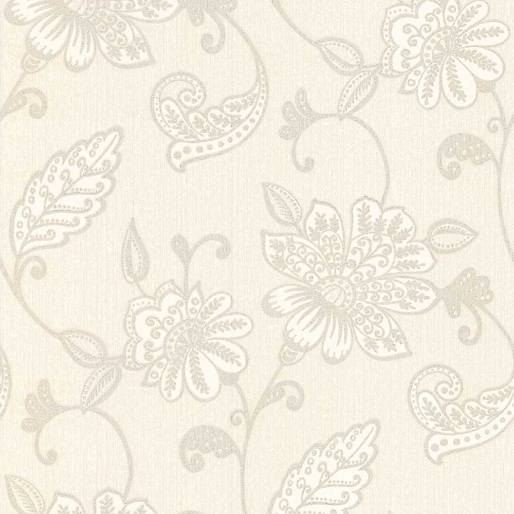 Graham Brown Juliet Wallpaper   White Wallpaper House Garden 1000x1000
