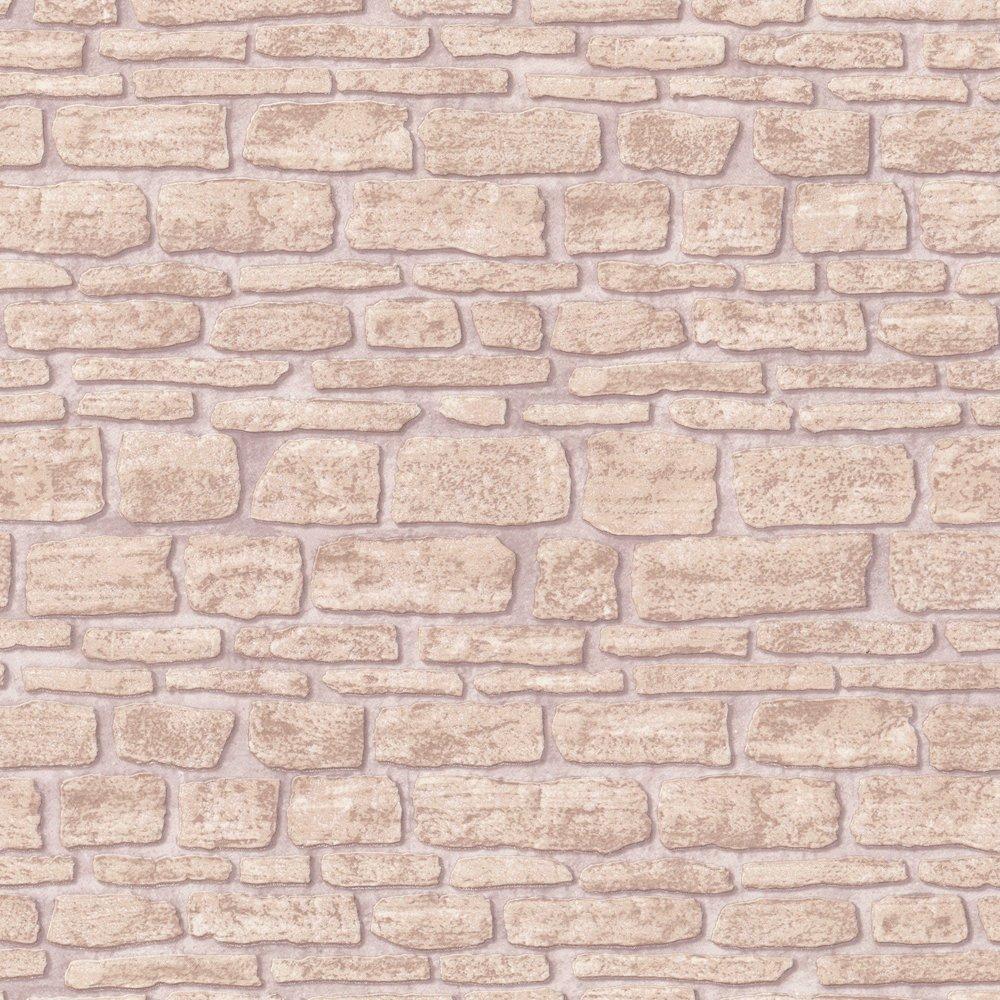 Traditional Sand Brick Wall Effect Designer Feature Wallpaper eBay 1000x1000