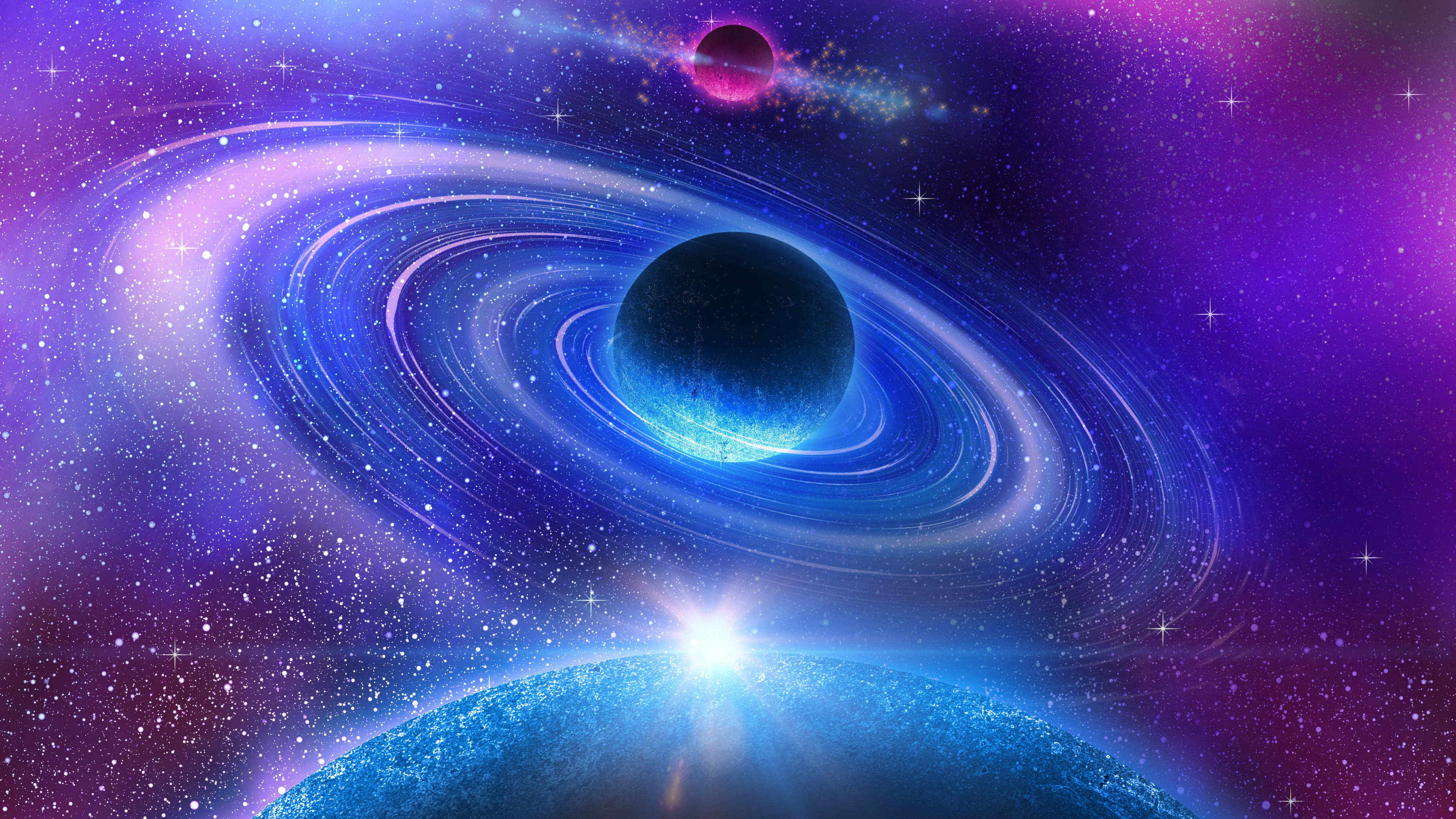 4k space wallpaper wallpapersafari for Wallpaper home 4k
