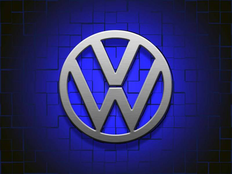 - WallpaperSafari Logo VW Wallpaper