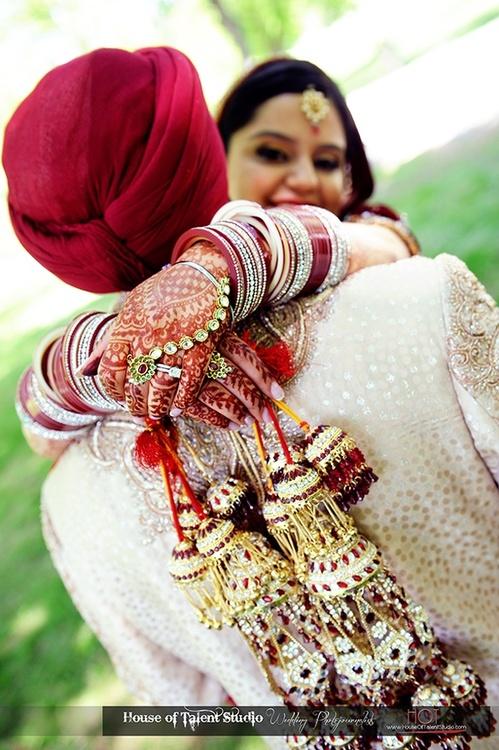 Punjabi Sikh Wedding Couple 499x750