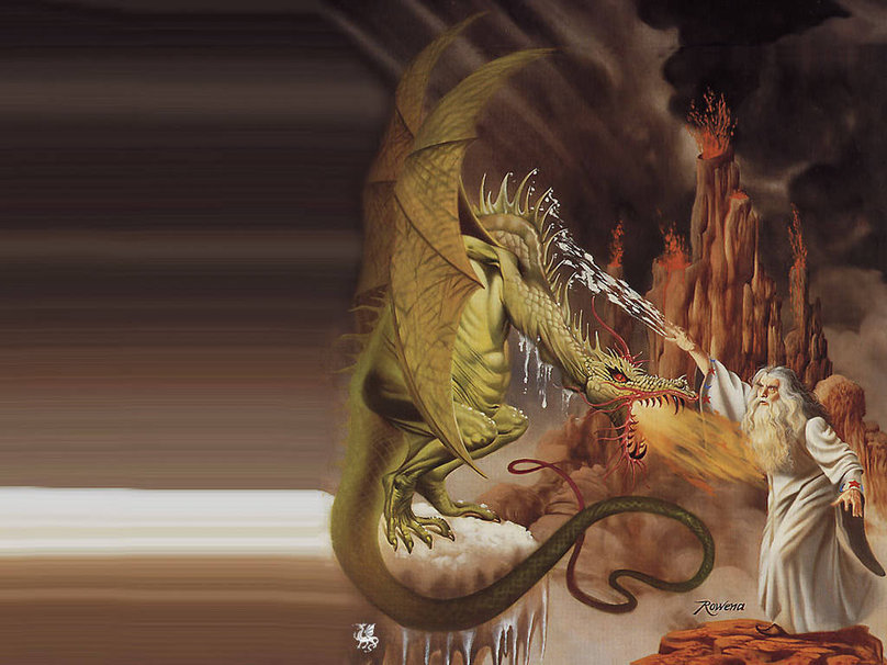 [49+] Wizards and Dragons Wallpapers on WallpaperSafari