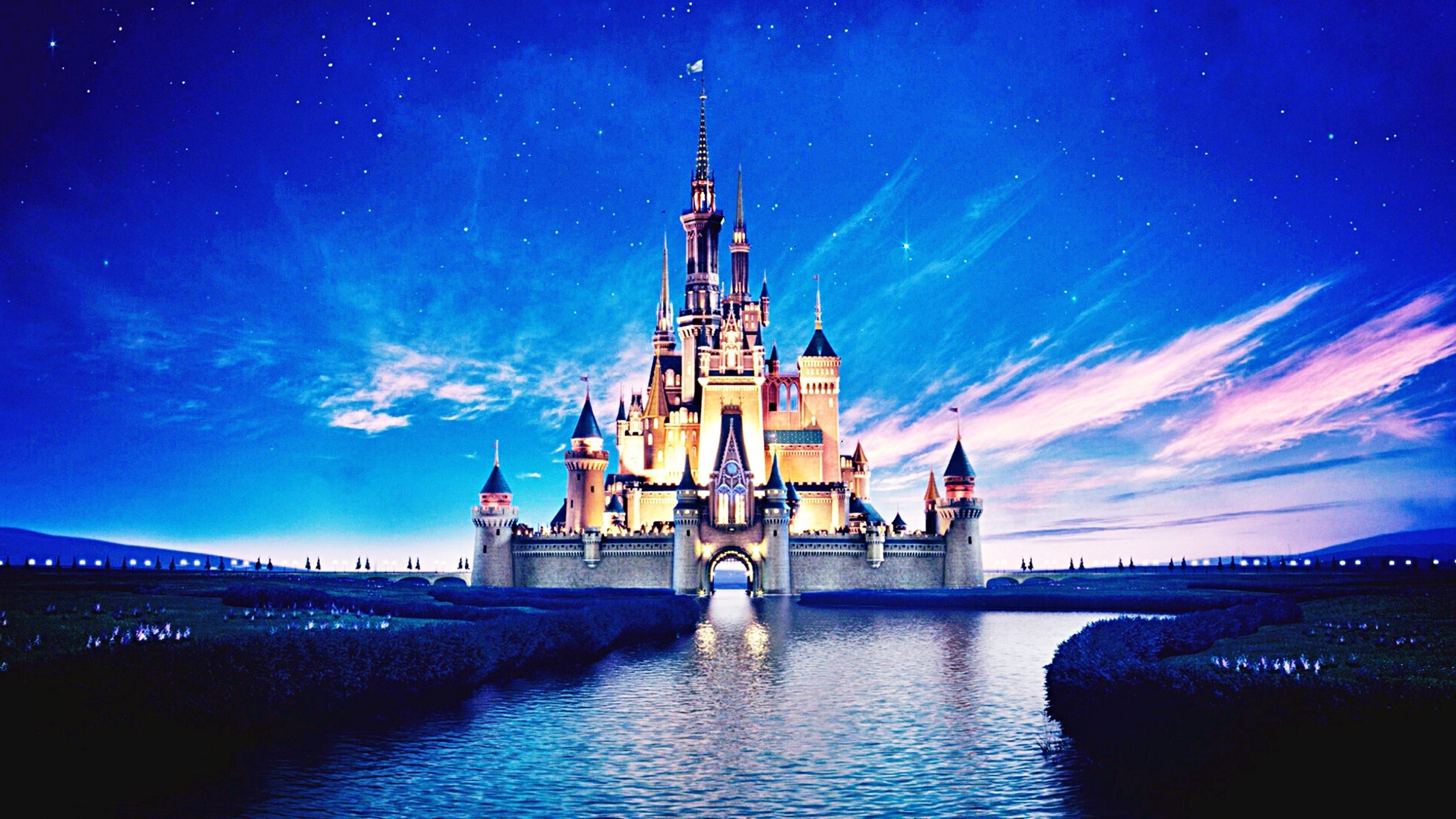 Disney Castle Wallpapers HD 2560x1440