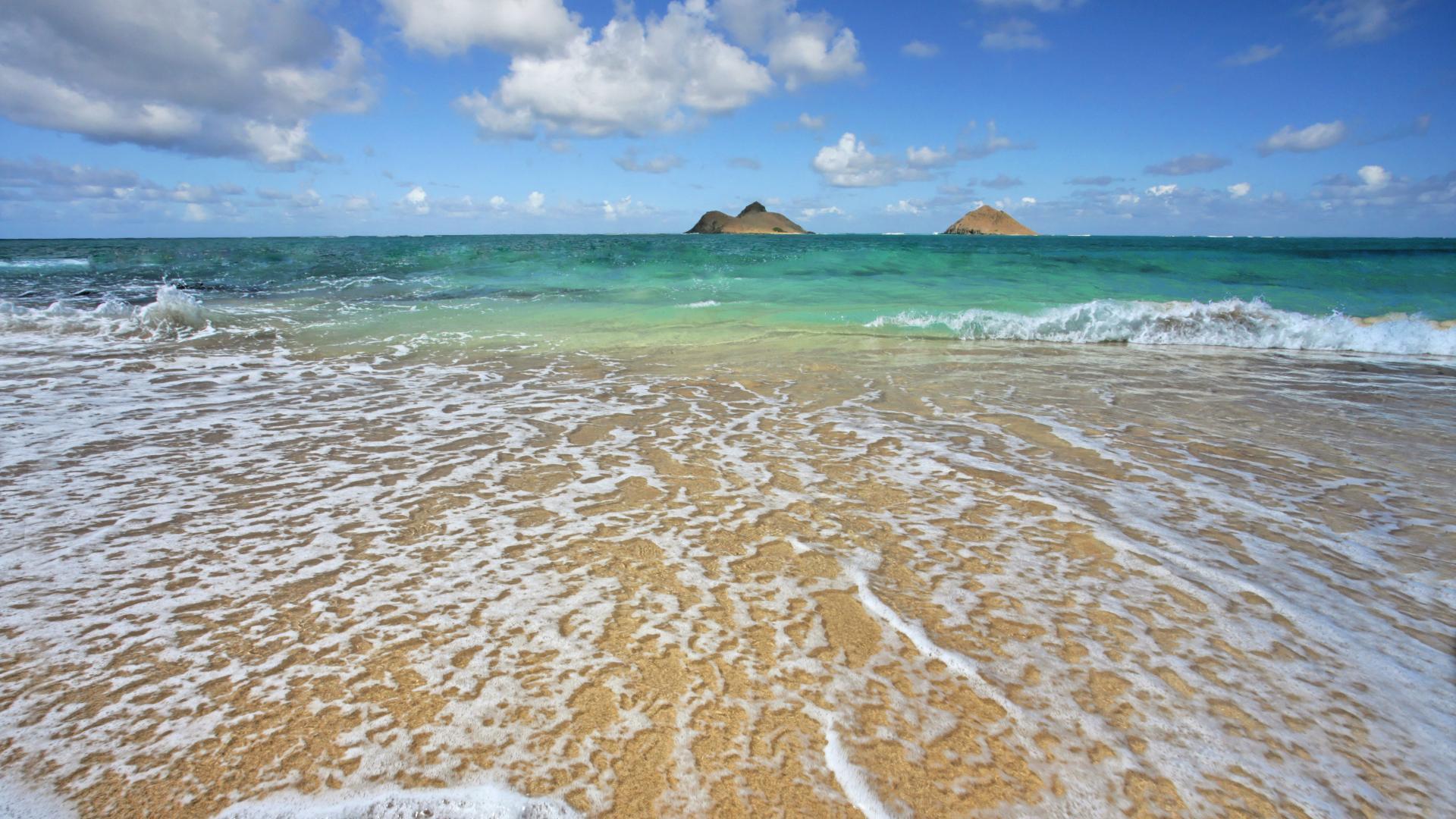 Free Hawaiian Beaches Wallpaper