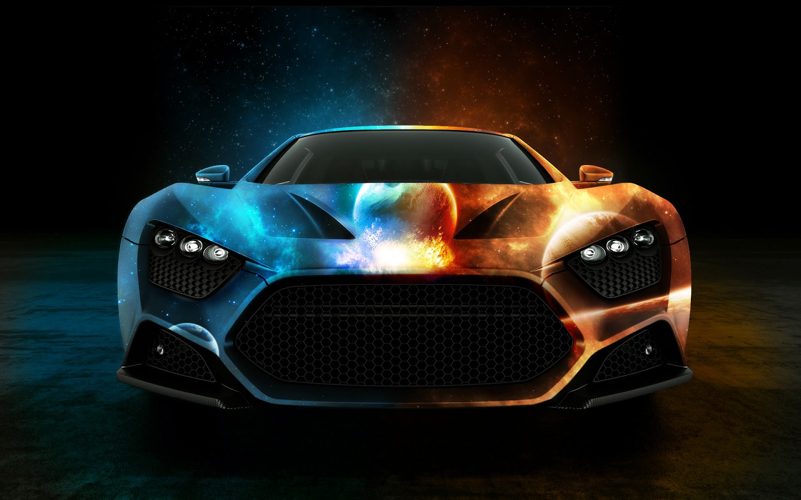 Awesome Super Car Top Desktop No1 1600x1000