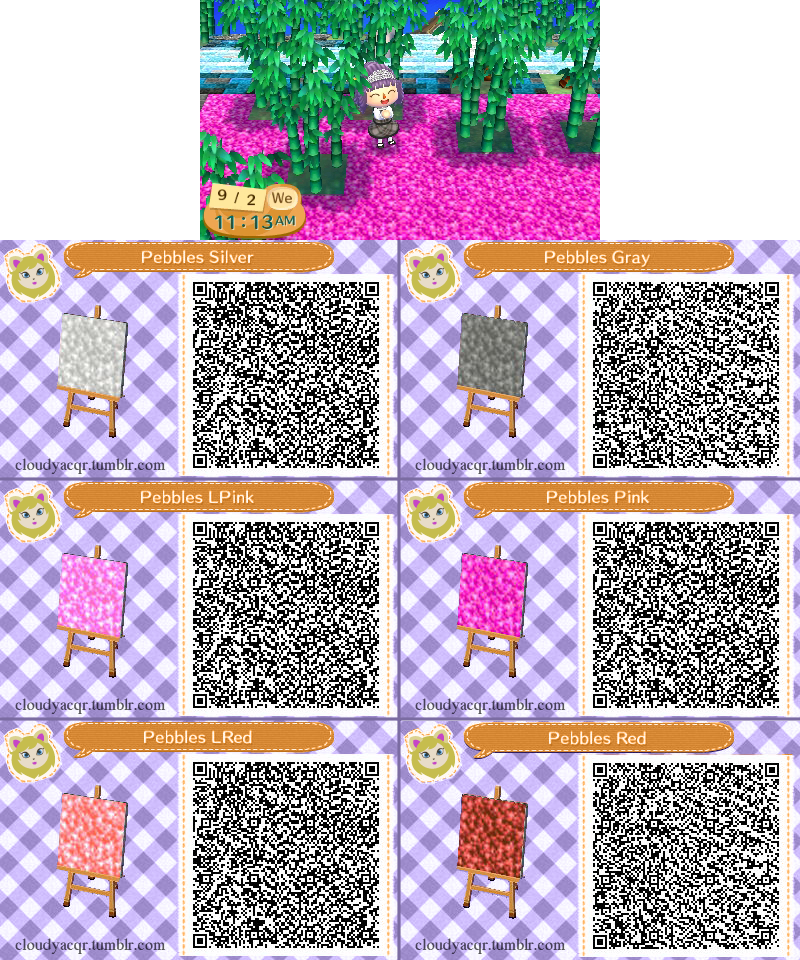 Free Download Animal Crossing Qr Pebbles 13 By Cloudyrei 800x960