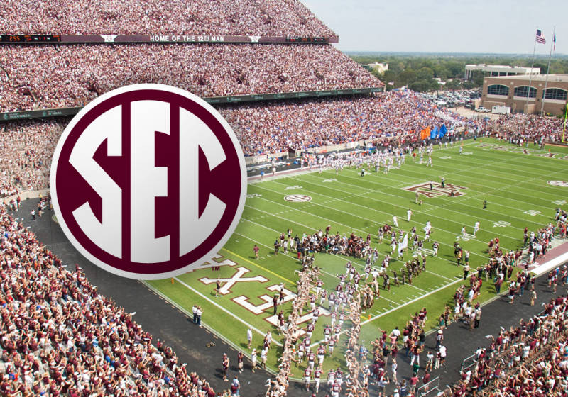 Southeastern Conference Football Wallpaper Sec texas am release 800x560