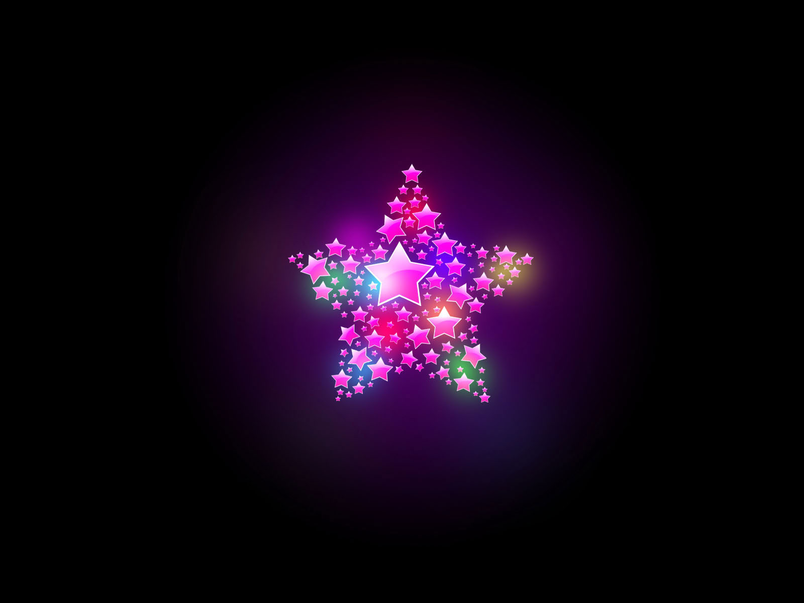 Bright star design wallpaper colorful desktop background Abstract 1600x1200