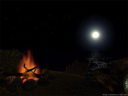 AD Midnight Fire   Animated Desktop Wallpaper Screenshot   Midnight 500x375