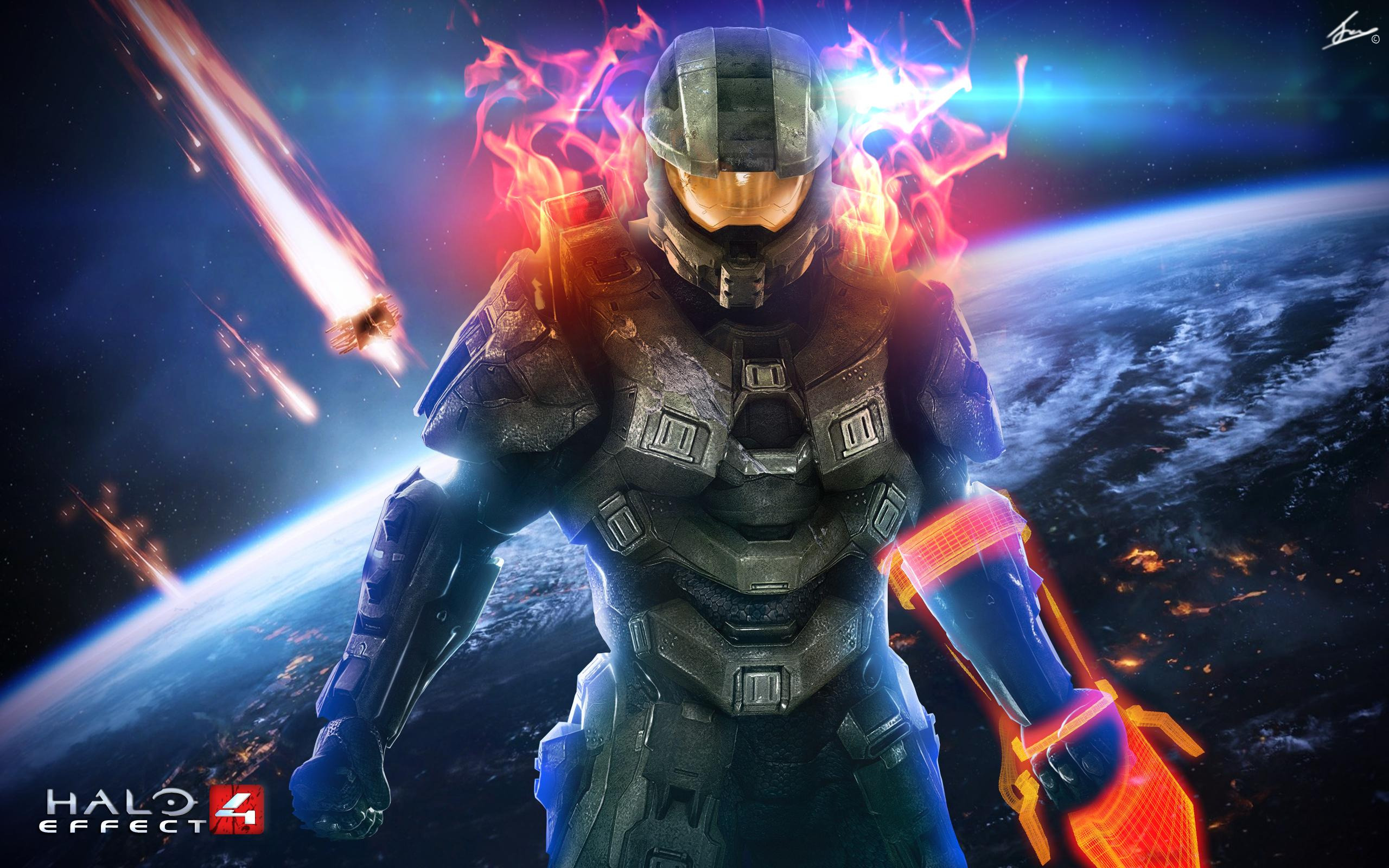 Images For Awesome Halo Wallpapers 2560x1600